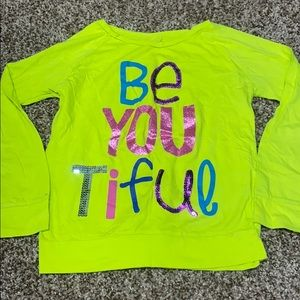 Lime Green Long Sleeve Tee